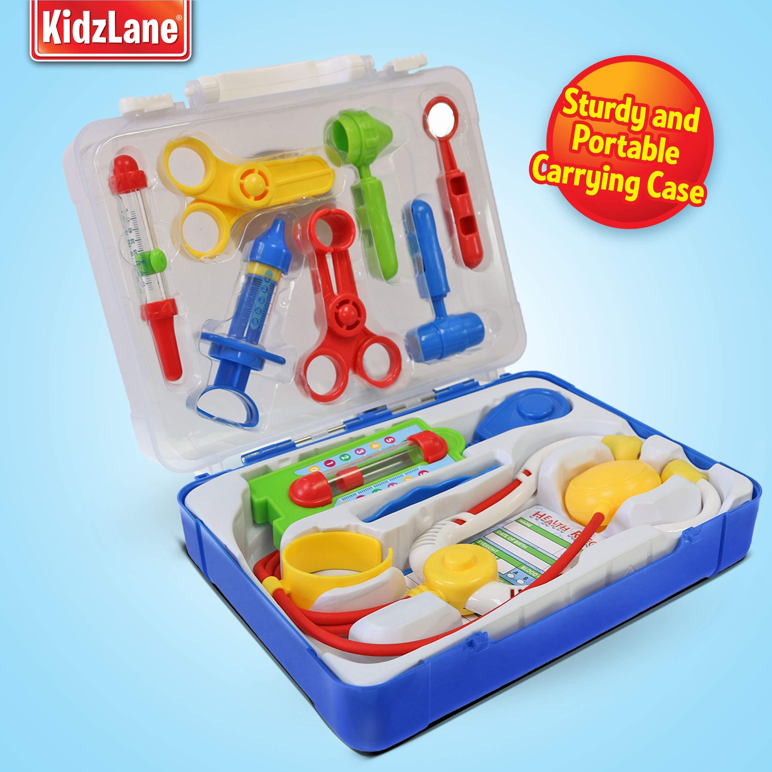 0f5c146d94e8 Kidzlane Deluxe Doctor Medical Kit - Pretend Play Set for Kids - CN-KL-0538  Doctor Kit   Medical Kits   Toys   Games - tibs