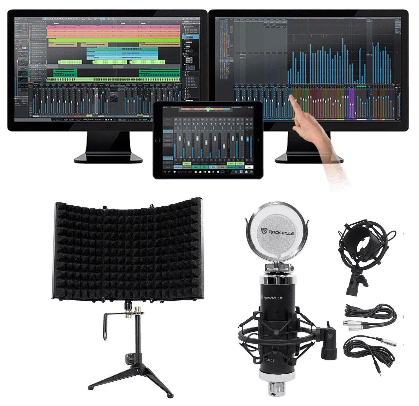 Presonus Studio One Upgrade Pro Version 1 & 2 TO Pro Version 3.2+Mic+Foam Shield