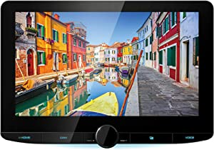 "Kenwood DMX1037S 10.1"" Floating Panel Digital Multimedia Receiver (Does not Play CDs/DVDs) 