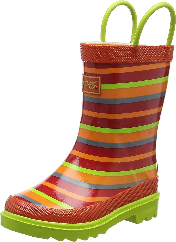 Regatta Minnow JNR Welly Chaussures de Randonn/ée Hautes Mixte Enfant
