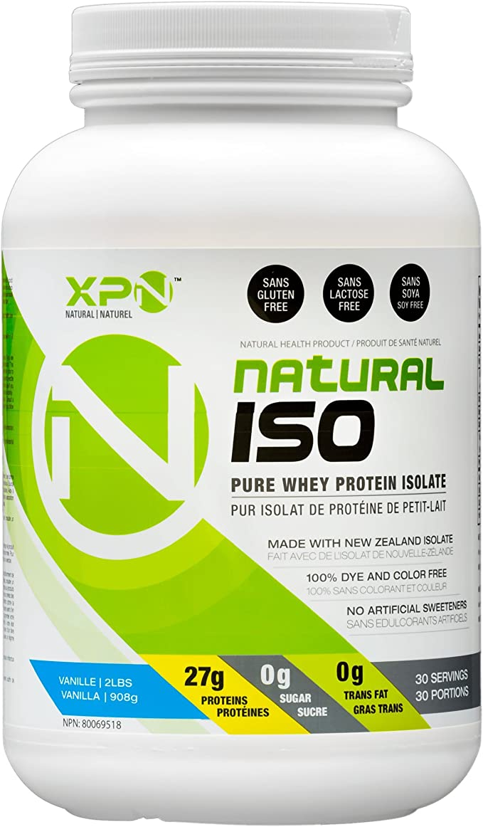 Natural Isolate proteína sin édulcorant y colorante ...