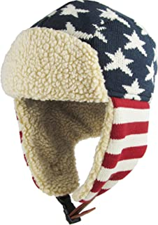 0f7697f34a1 Stay Warm When is Cold Windproof Winter Aviator Collection Trooper Trapper  Hunting Hat Aviator Winter USA