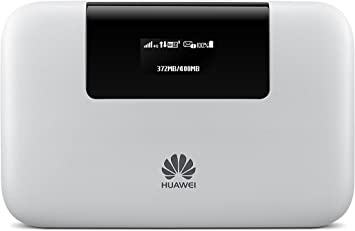 Amazon Com Huawei E5770s 320 4g Lte 150 Mbps Mobile Wifi Pro 20 Hours Working Power Bank Feature Ethernet Port White