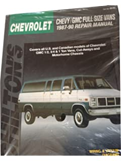 Chevrolet vans 6896 haynes repair manuals haynes 9781563921971 chevy gmc full size vans 1987 90 repair manual chiltons total car fandeluxe Gallery