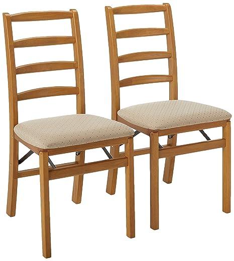 Amazon.com: stakmore Shaker silla plegable de madera w ...