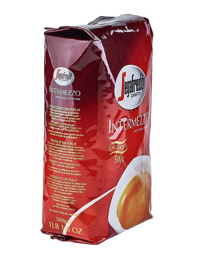 Segafredo Frijoles espresso Intermezzo Classico espresso 8.8 onzas: Amazon.es: Alimentación y bebidas