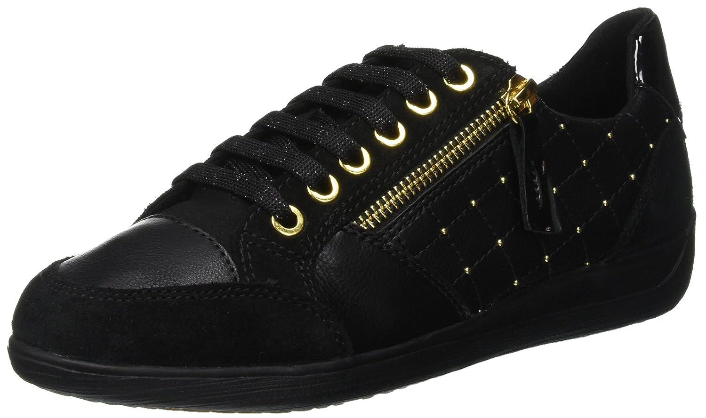 Geox D Myria B, Zapatillas para Mujer 39 EU (Black C9999)