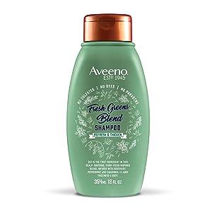 Aveeno Scalp Soothing Fresh Greens Blend Shampoo, 12 Ounce