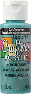 product image for DecoArt Crafter's Acrylic Paint, 2-Ounce, Dark Turquoise