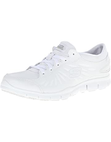 83a76f26647a Skechers for Work Women s Eldred Shoe
