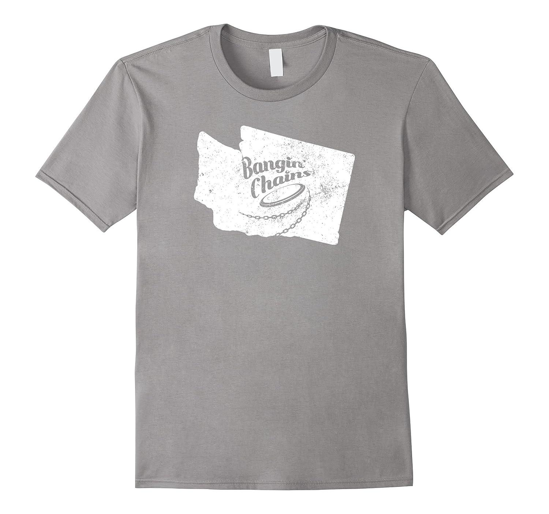 Ultimate Frisbee Shirt Bangin Chains Washington Shirt-Teeae