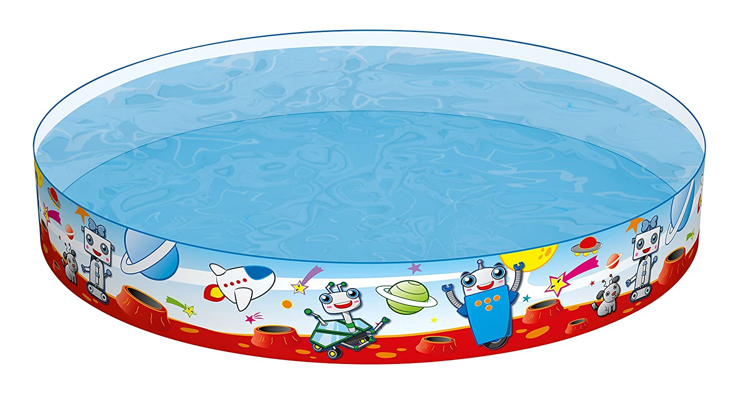 Bestway 55021 kids play pool - billares para niños (Estampado, Multicolor, PVC, Vinilo, 1510 x 1510 mm, Caja a todo color): Gebro 55021 - Fixplanschbecken ...