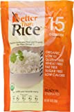 Better Than Rice. Certified Organic. Vegan, Gluten-Free, Non-GMO, Konjac, Shirataki Rice 14oz. (6 pack/84oz) ($0.30/Oz.)
