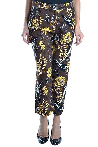 Prada Mujer MCBI212015O Marrón Viscosa Pantalón