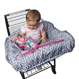Amazon Price History for:Boppy Shopping Cart and High Chair Cover, Park Gate Pink