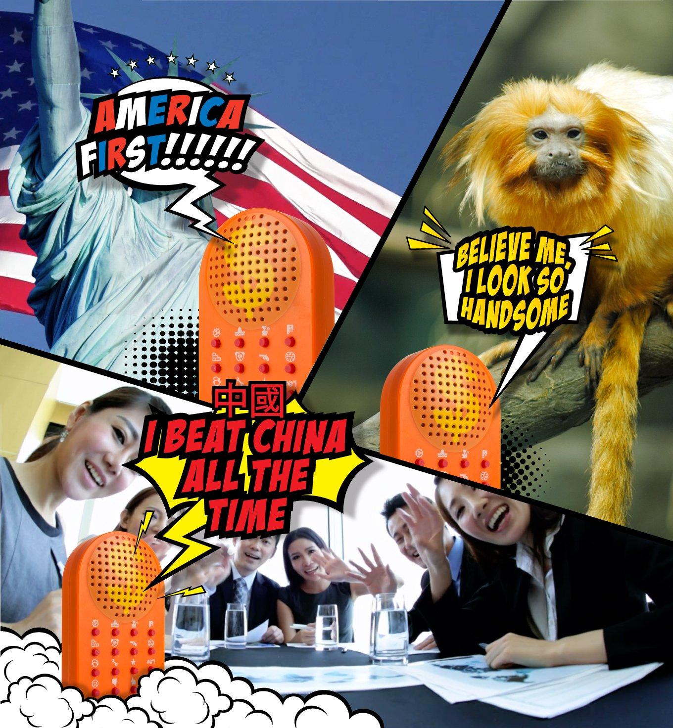 ZOFOX The Presidential Word Machine /¡16 Divertidas Frases Presidenciales que Podr/ás Utilizar en Fiestas Everybody Says So! en la Oficina o en Cualquier Lugar! This Machine Has the Best Words