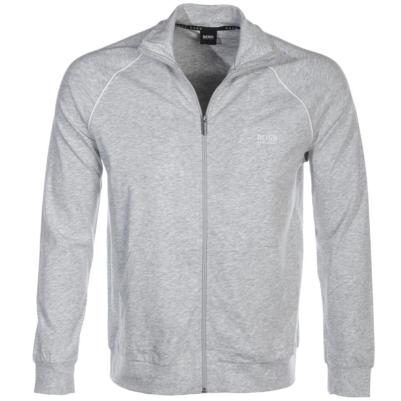 BOSS Mix & Match Full Zip Jacket Sweat Top in Grey M