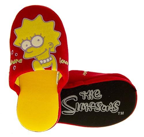 The Simpsons Niños Niñas Capolino Talón Abierto Zapatillas de Mulashttps://amzn.to/2DN0Cmu