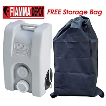 Fiamma citodiagnóstico lochnerverpackung Roll 23L gris ruedas ...