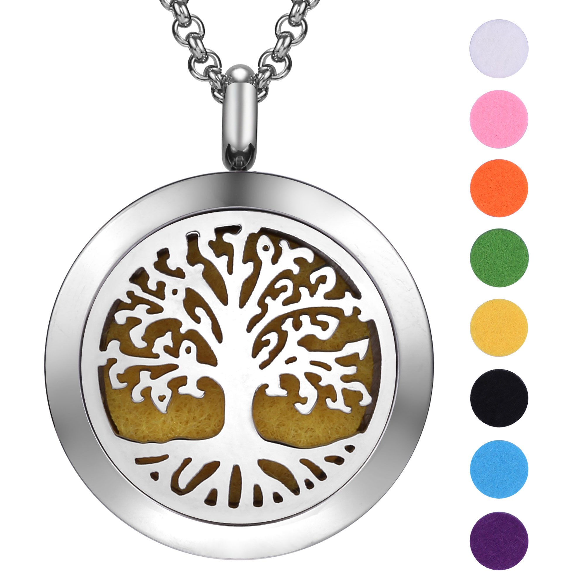 il locket pattern necklace flower pendant lotus listing diffuser oil essential fullxfull