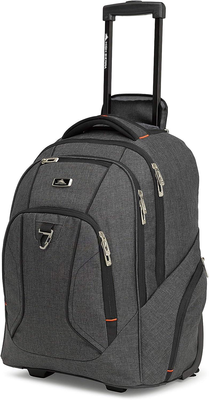 High Sierra Endeavor Rolling Backpack