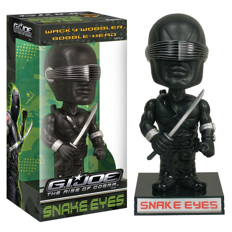 G.I. Joe Rise of the Cobra Wackelkopf-Figur Cobra Snake Eyes 18 cm
