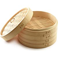 Norpro 1963 Bamboo Steamer, One Size