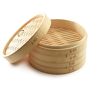 Norpro Natural Bamboo Steamer