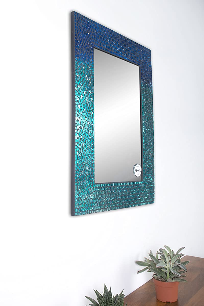 Ren-Wil MT1450 Catarina Mirror by Jonathan Wilner, 23 by 31-Inch