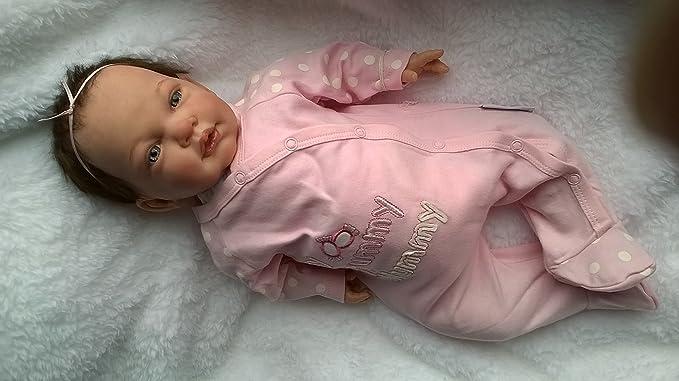 Amazon.es: Reborn bebé muñeca Celia - Heavy - Chupete ...