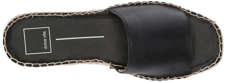 Dolce Vita Women's 9 Bobbi Slide Sandal B0784HG68P 9 Women's B(M) US|Black Leather 81c965