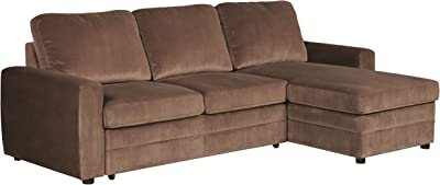 Sectional Sofa in Brown