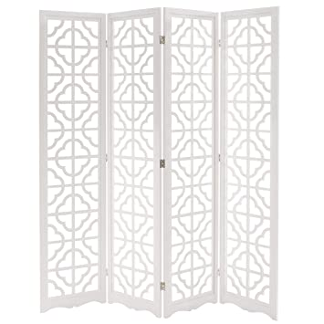 folding wood panel screen cutout room divider white screens walmart canada with wheels cheap