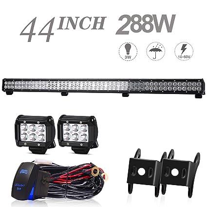 amazon com led light bar uni filter 44\