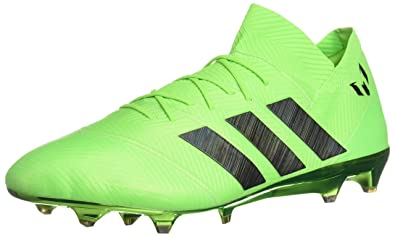 73df4bb60c4 adidas Nemeziz Messi 18.1 Firm Ground Cleat - Men s Soccer 10 Solar Green Core  Black