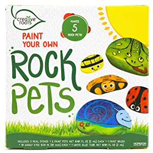 Creative Roots Pet Rocks by Horizon Group USA