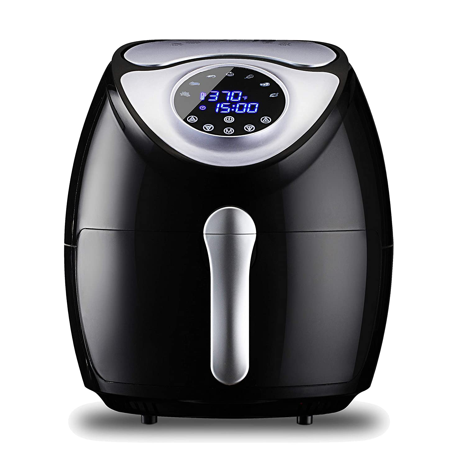 KILI BEAM Air Fryer 5.8QT Power Airfryer XL with Air fryer Cookbooks