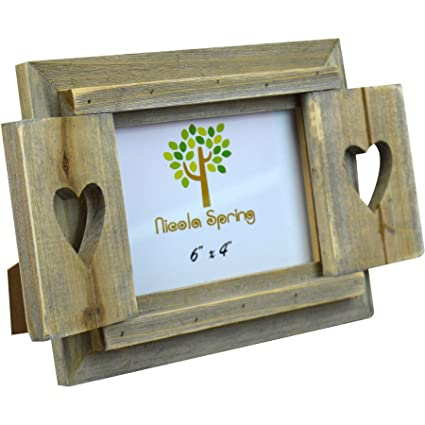 Amazon Windhorse Nicola Spring Wooden Heart Shutters