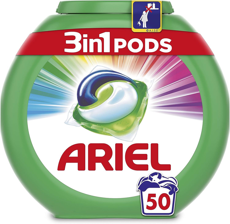 Ariel 3en1 Pods Detergente En Cápsulas, Color & Style, Limpieza ...