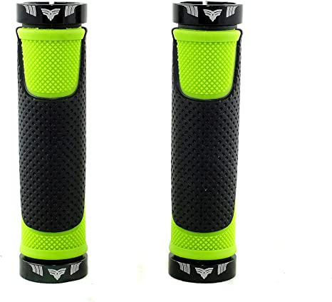 El Gallo Components Comfort - Puños para Bicicleta, Color Verde ...