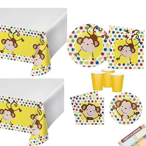 Amazoncom Monkey Birthday Party Or Gender Neutral Baby Shower