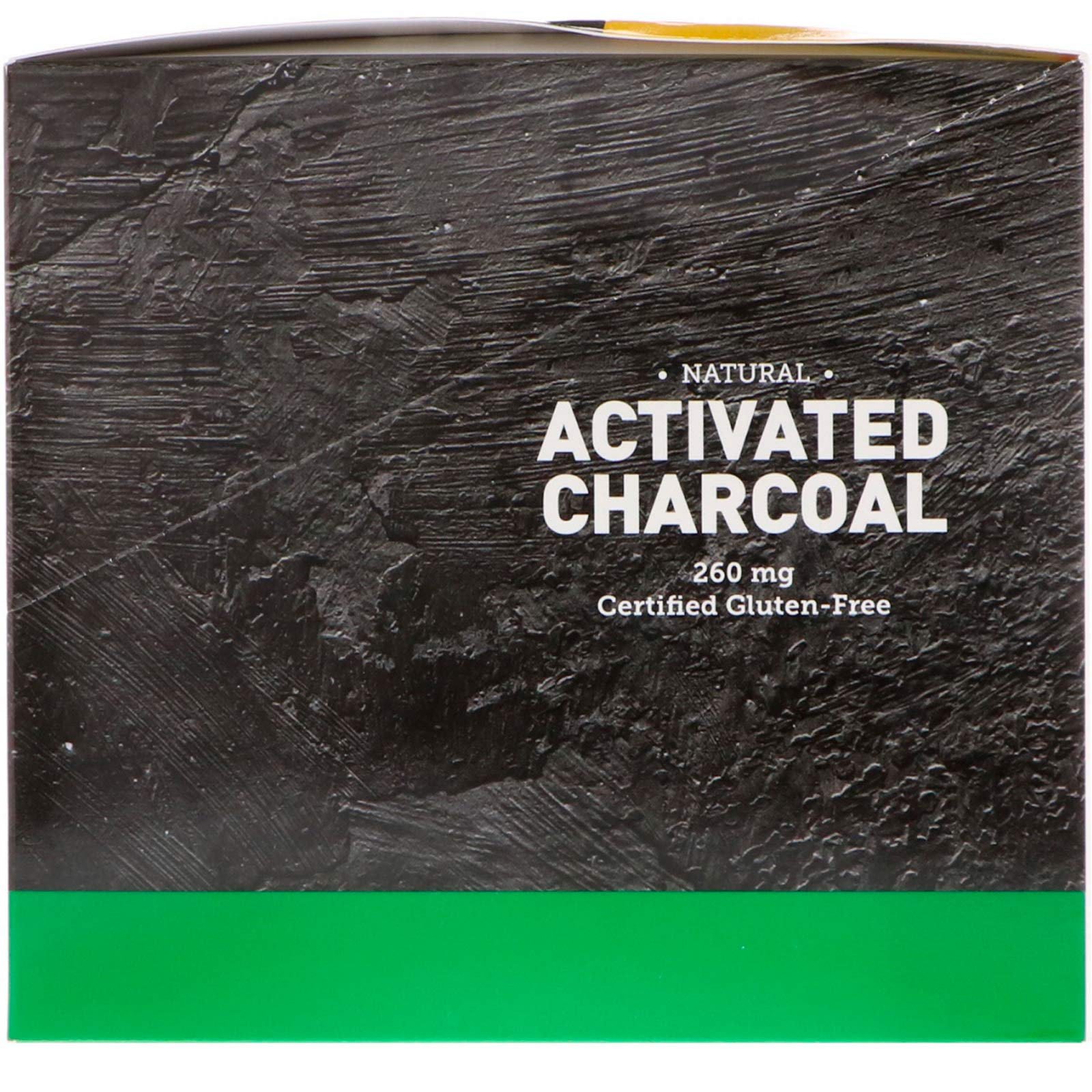Country Life, Natural Activated Charcoal, 260 mg, 20 Packets, 2 Capsules Each
