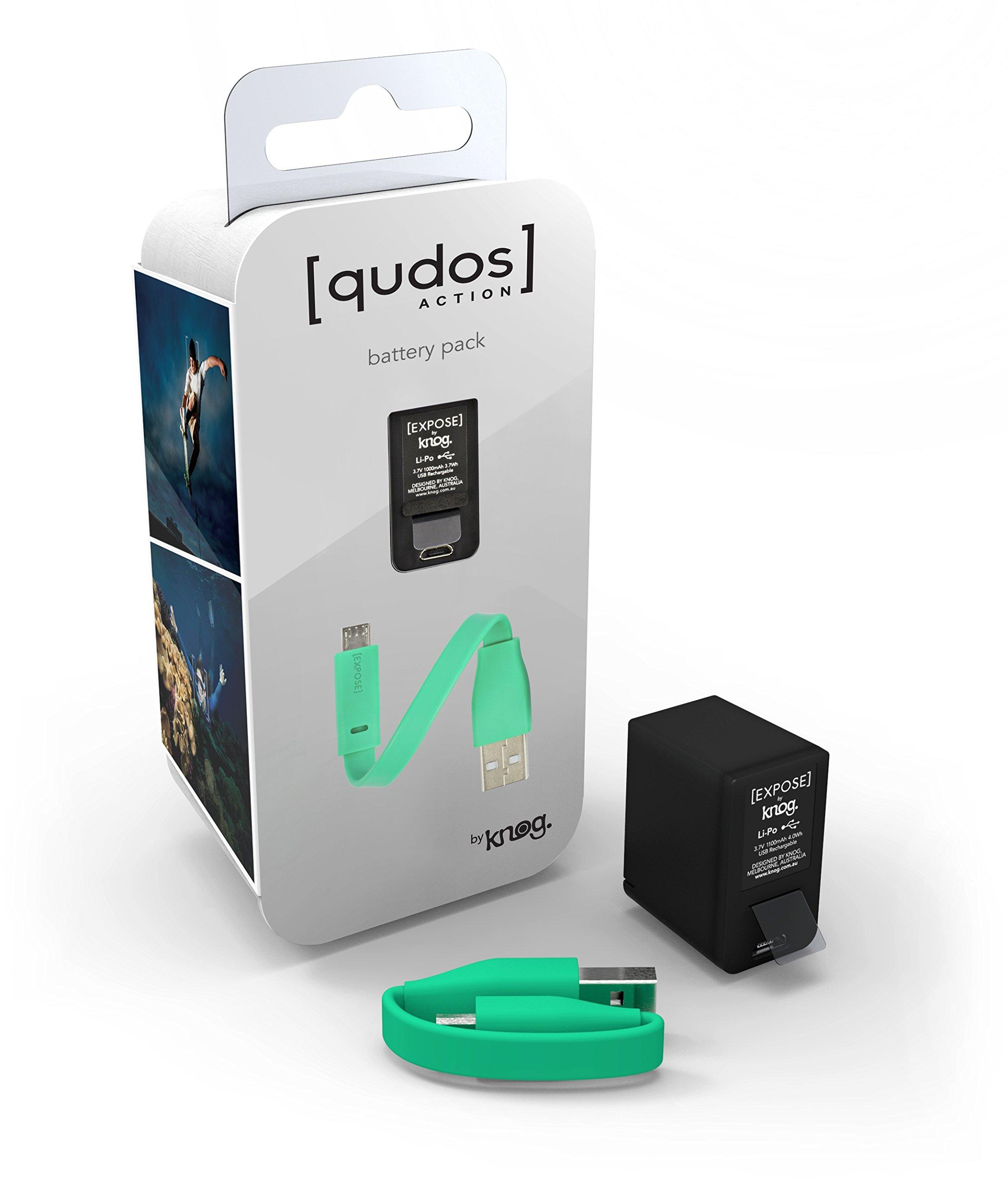 KNOG [qudos ACTION Video Light Battery Pack