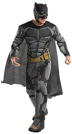 Adult Menu0027s Deluxe Justice League Tactical Batman Costume Large 46  sc 1 st  Amazon.com & Amazon.com: Rubieu0027s Justice League Adult Deluxe Tactical Batman ...