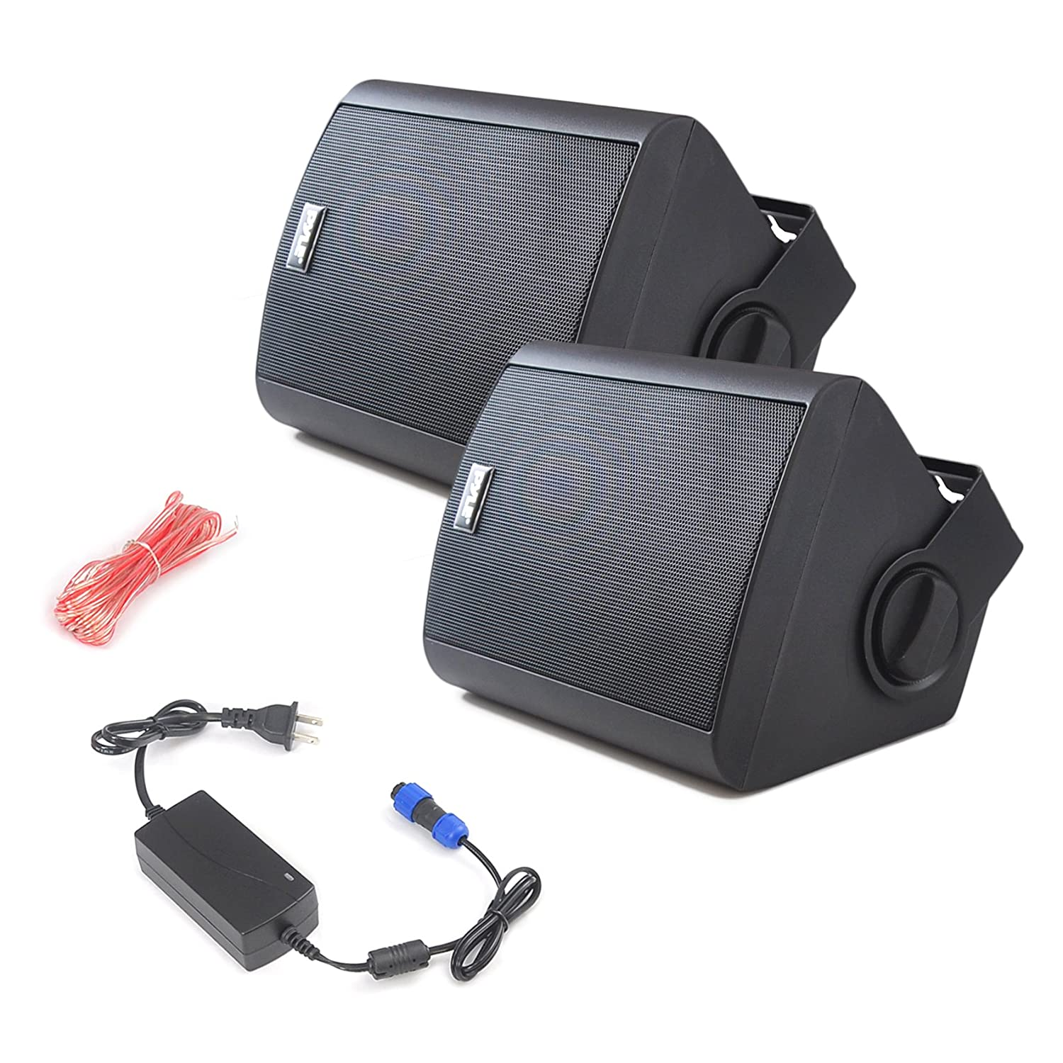 Amazon Pyle Pair of Wall Mount Waterproof & Bluetooth 6 5