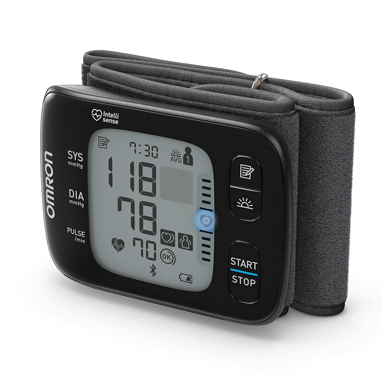 Omron HEM-6232T-D RS7 Intelli IT - Tensiómetro de muñeca, color negro [enviado de Alemania]: Amazon.es: Salud y cuidado personal