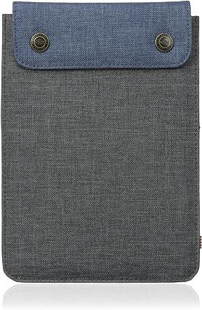 Herschel Spokane Sleeve for iPad Mini Charcoal Crosshatch/Navy Crosshatch: Amazon.es: Electrónica