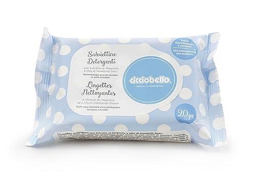 6 opinioni per Cicciobello Voglia di Tenerezza Salviettine Detergenti Delicate, Bianco,
