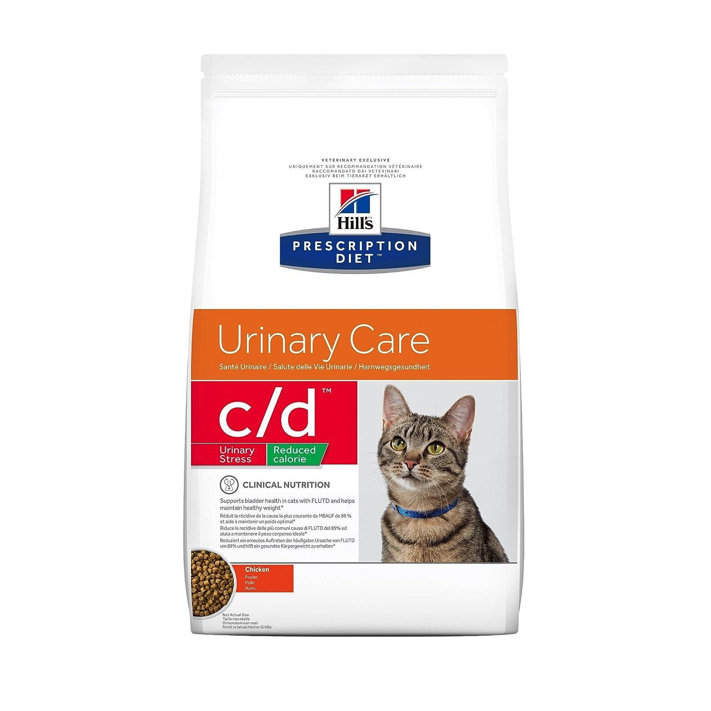 Hill`s Alimento Dietético para Gato C/D - 2 Paquetes de 1500 gr - Totale: 3000 gr