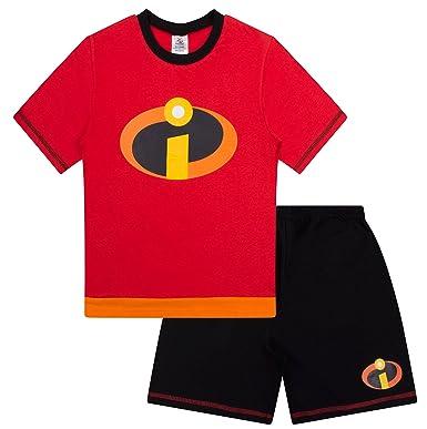 c5ae6cec0ac1 Disney The Incredibles Fancy Dress Short Boys Pyjamas Girls  Amazon ...
